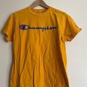 Champion Yellow Tee